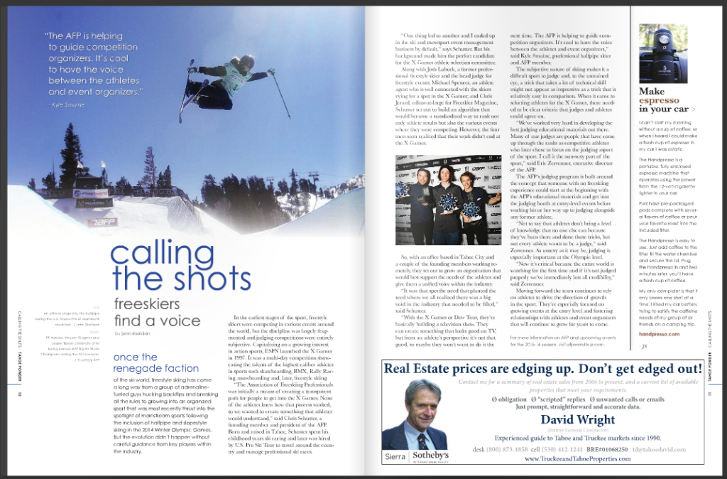 association of freeskiing professionals